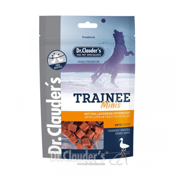 Dr Clauder's Trainee Snacks Minis 50 g Ente