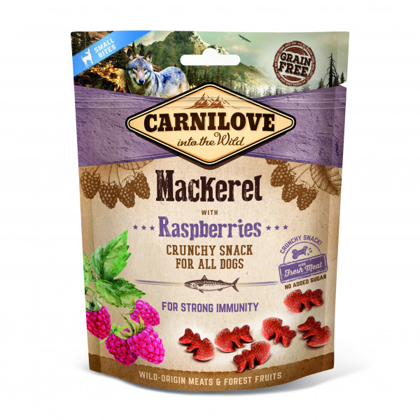 Carnilove crunchy Snack Makrele mit Himbeeren