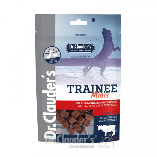 Dr Clauder's Trainee Snack Minis 50 Gr Rind