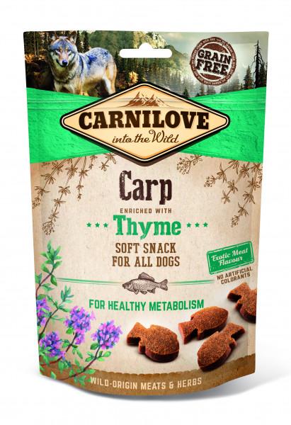 Carnilove Soft Snack Karpfen mit Thymian