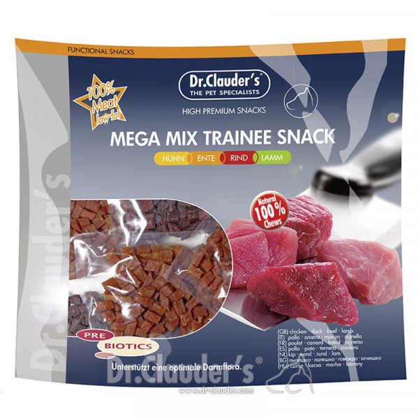 Dr. Clauder's Mega Mix Trainee Snack 500 Gr