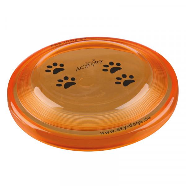 Hunde Frisbee aus flexiblem Kunststoff