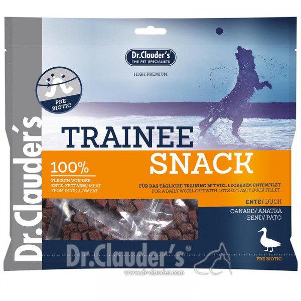 DC Dog Snack Strips Ente Trainee BigBox 500g