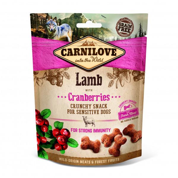 Carnilove cunchy Snack Lamb mit Preiselbeeren