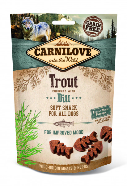 Carnilove Soft Snack Forelle mit Dill