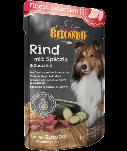 Belcando PB, Rind und Spätzle mit Zucchini