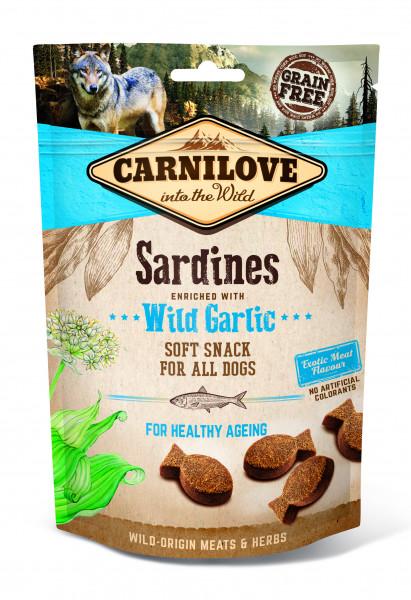 Carnilove Soft Snack Sardine mit Knoblauch