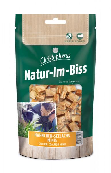 Natur im Biss Trainings - Minis Hähnchen - Seelachs