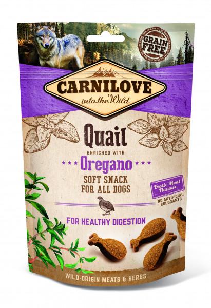 Carnilove Soft Snack Wachtel mit Oregano