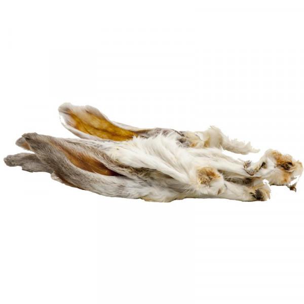 Kaninchenohren mit Fell 100 g